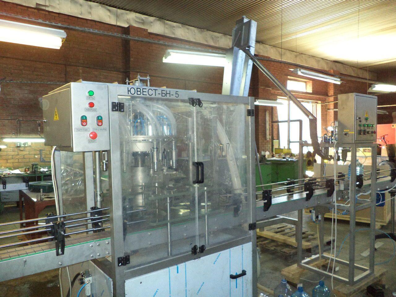 Линия розлива воды цены от производителя АКВА