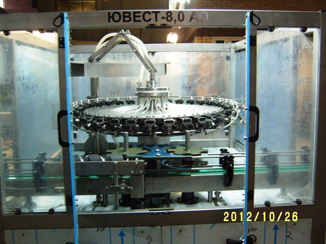 Введены в производство стойки из оргстекла